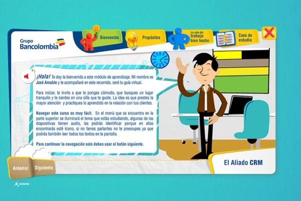 <strong>Bancolombia &#8211; El Aliado CRM</strong>