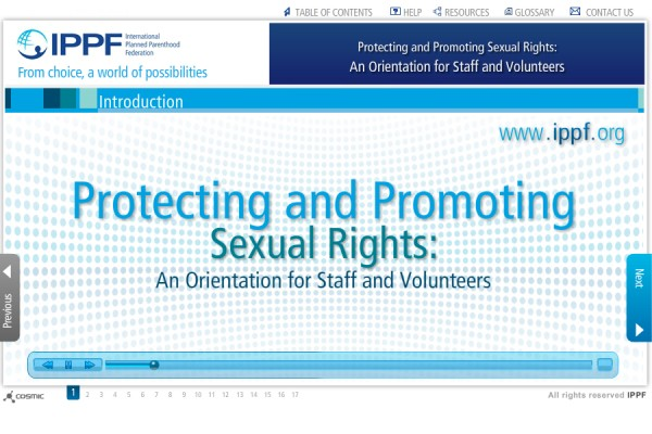 <strong>IPPF – Protecting and Promoting Sexual Rights</strong>